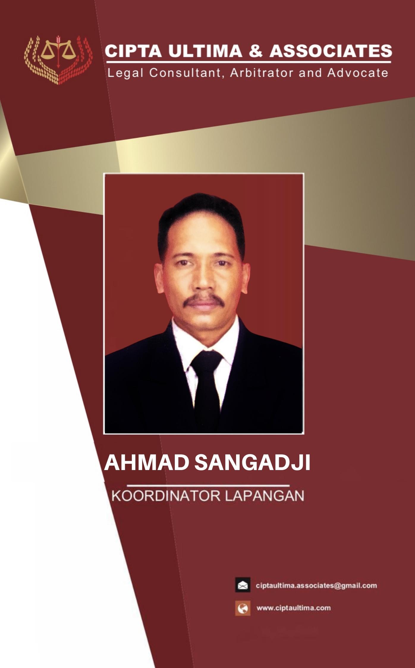 AHMAD SANGADJI